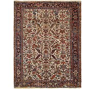 Link to 8' 2 x 10' 9 Heriz Persian Rug
