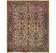 Link to 7' 5 x 9' 2 Heriz Persian Rug