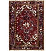 Link to 195cm x 267cm Heriz Persian Rug