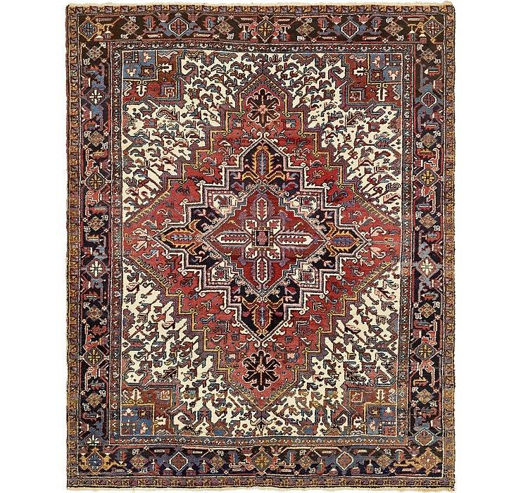 7' 7 x 9' 7 Heriz Persian Rug