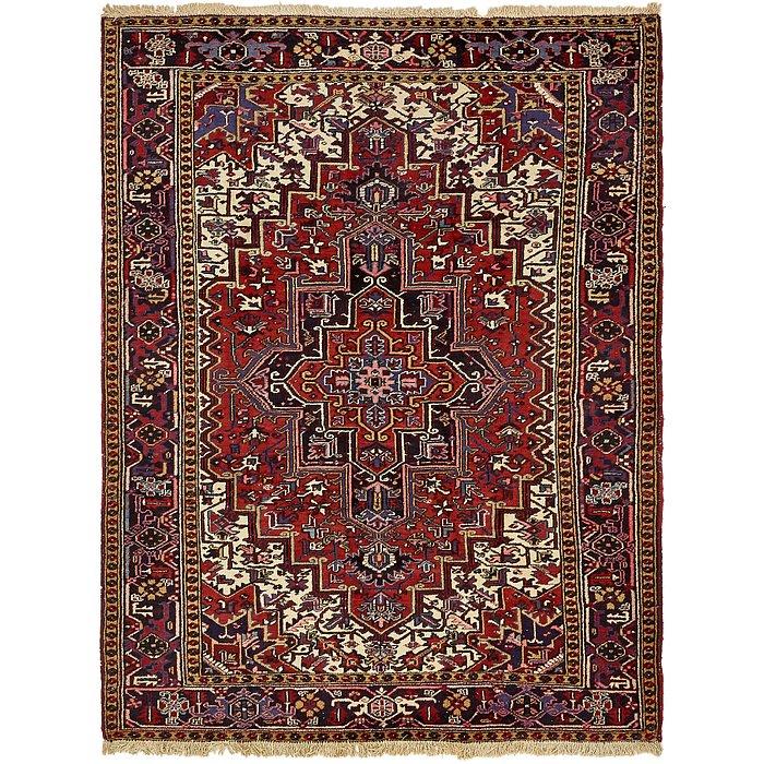 7' 3 x 9' 9 Heriz Persian Rug