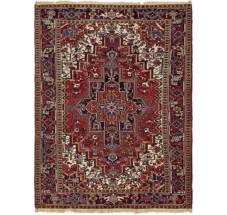 220cm x 297cm Heriz Persian Rug