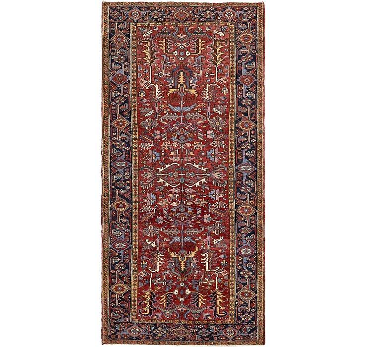 5' 4 x 11' 3 Heriz Persian Runner Rug