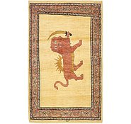 Link to 3' 6 x 6' Ghashghaei Persian Rug