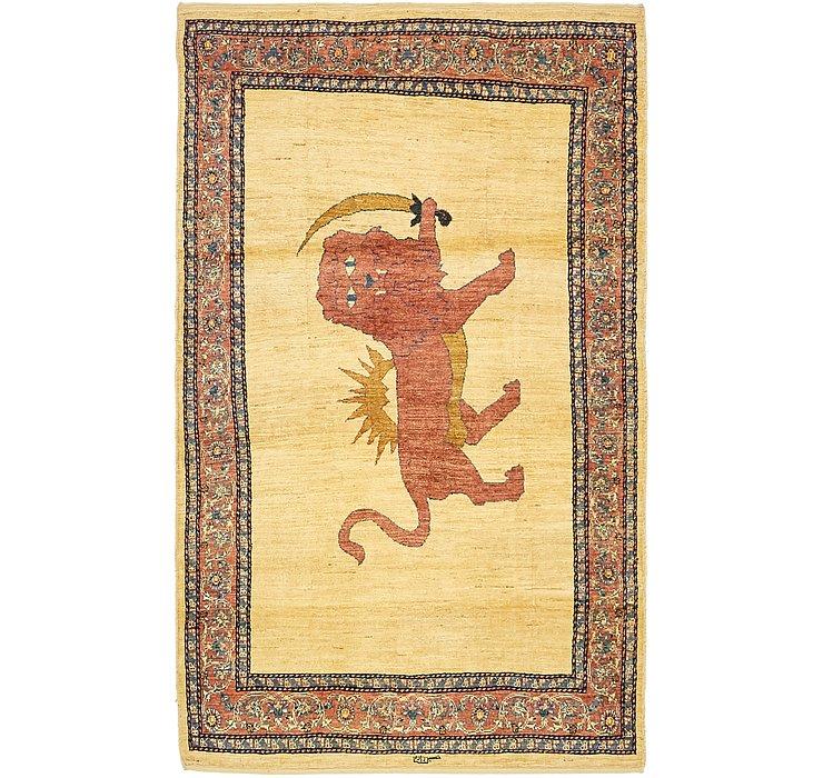 3' 6 x 6' Ghashghaei Persian Rug