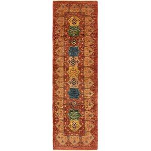 Unique Loom 2' 10 x 10' 6 Ghashghaei Persian Runn...