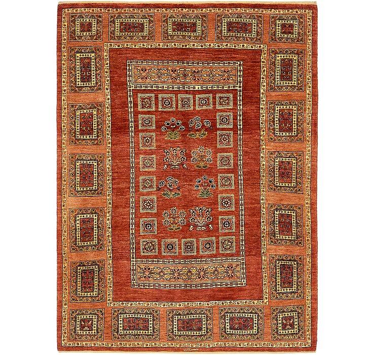 4' 10 x 6' 9 Ghashghaei Persian Rug