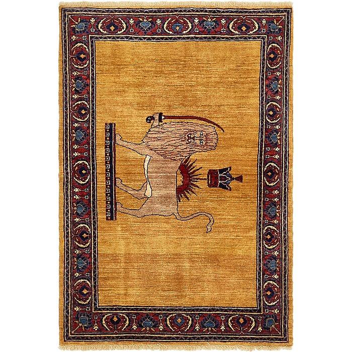3' 6 x 5' 2 Ghashghaei Persian Rug