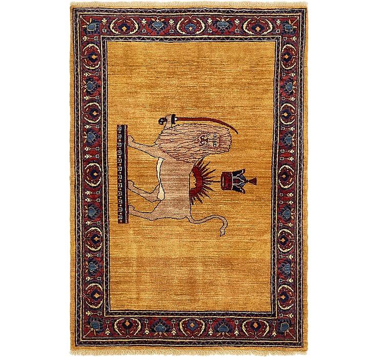 107cm x 157cm Ghashghaei Persian Rug