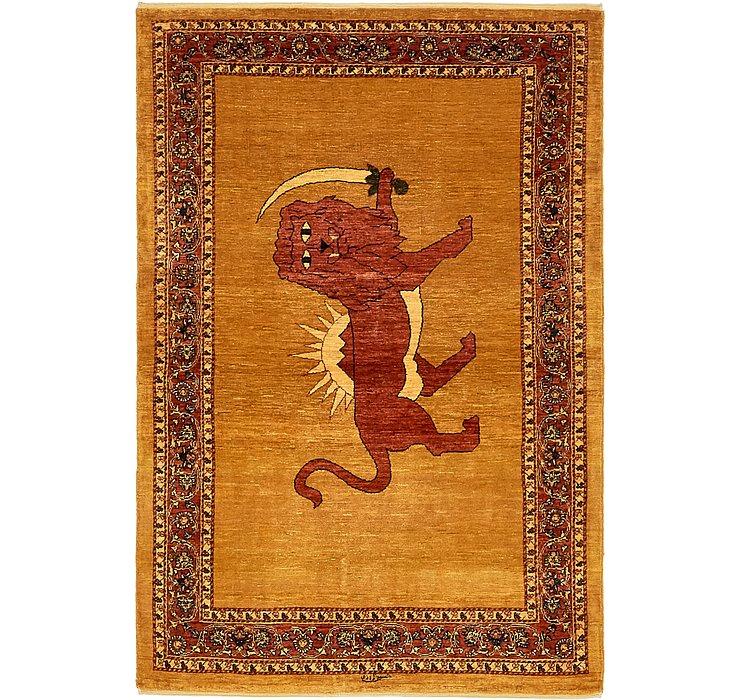 3' 7 x 5' 6 Ghashghaei Persian Rug