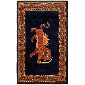 HandKnotted 3' 9 x 6' 5 Ghashghaei Persian Rug