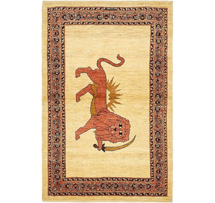 105cm x 170cm Ghashghaei Persian Rug