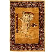 Link to 3' 3 x 5' Ghashghaei Persian Rug