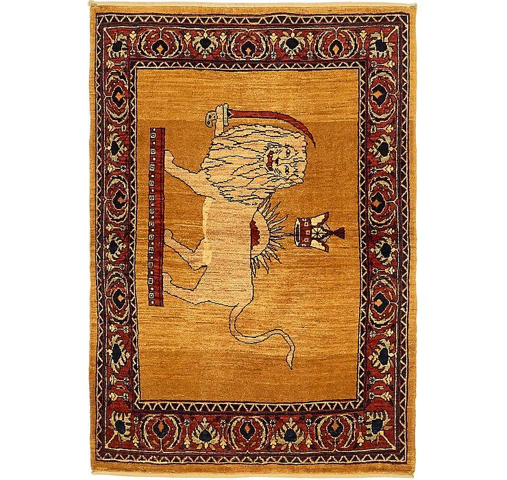 100cm x 152cm Ghashghaei Persian Rug