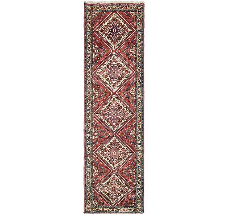 2' 7 x 9' 6 Roodbar Persian Runner ...