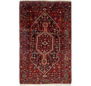 Link to 4' 7 x 7' 6 Hamedan Persian Rug