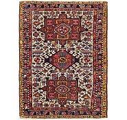 Link to 3' 4 x 4' 9 Heriz Persian Rug