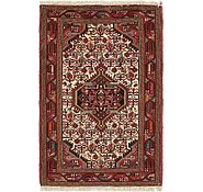Link to 2' 8 x 4' Mazlaghan Persian Rug