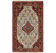 Link to 2' 7 x 4' 3 Mazlaghan Persian Rug