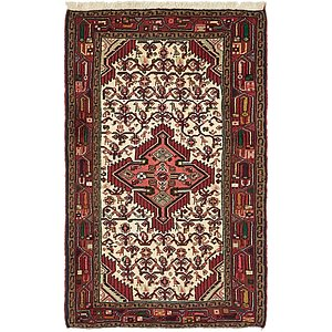 Unique Loom 2' 7 x 4' 4 Mazlaghan Persian Rug