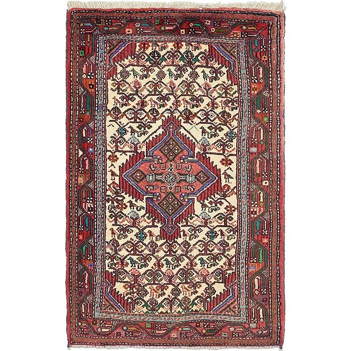 2' 8 x 4' 4 Mazlaghan Persian Rug