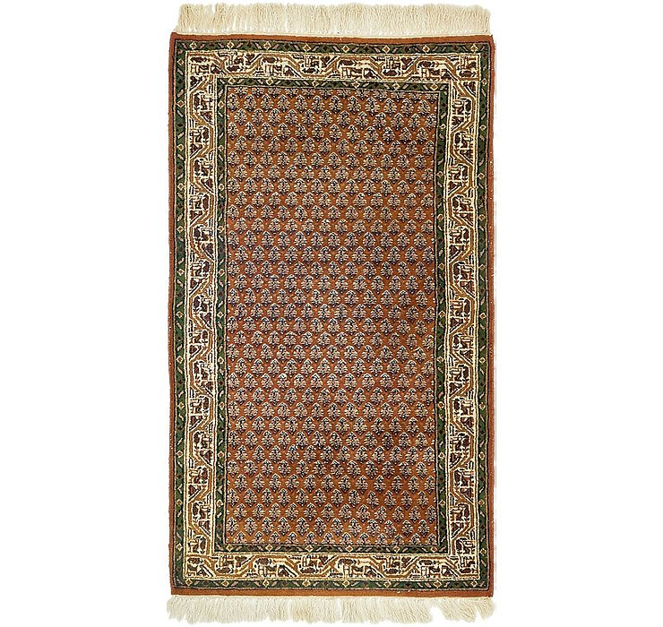 HandKnotted 2' 6 x 4' 7 Mir Rug