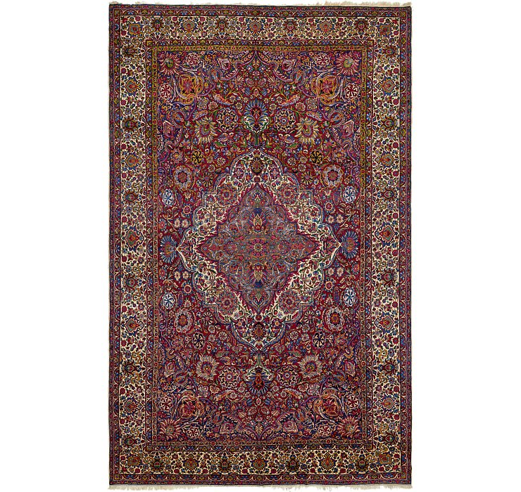 HandKnotted 11' 6 x 18' 8 Yazd Persian Rug