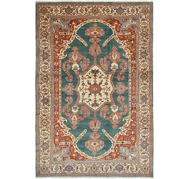 13' x 19' 10 Heriz Persian Rug