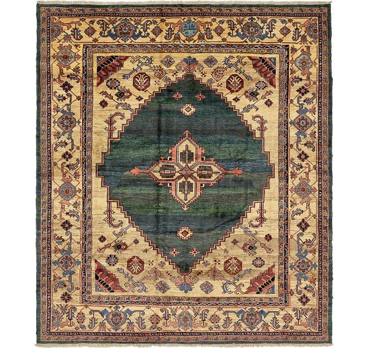13' 7 x 15' 5 Heriz Persian Rug