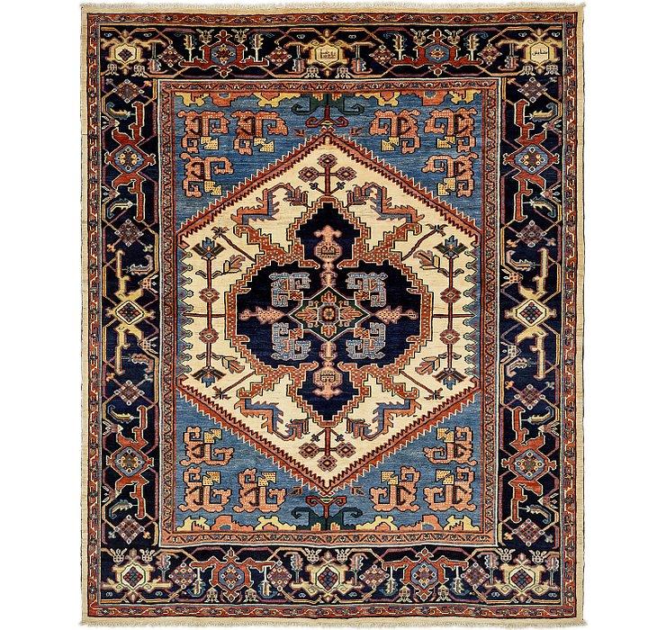 12' 6 x 15' 3 Heriz Persian Rug