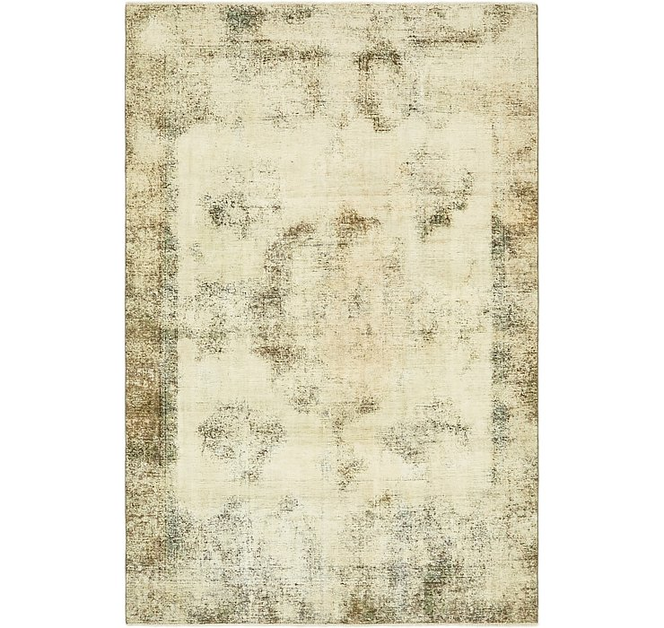 HandKnotted 6' x 9' Ultra Vintage Persian Rug