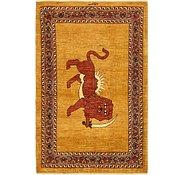 Link to 3' 10 x 6' Ghashghaei Persian Rug