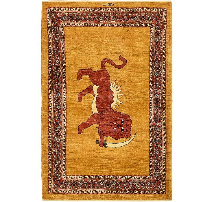 117cm x 183cm Ghashghaei Persian Rug