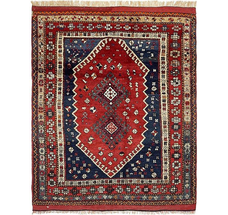 4' 6 x 6' Ghashghaei Persian Rug