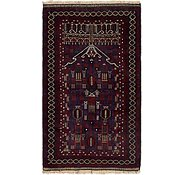 Link to 3' 3 x 5' 7 Balouch Persian Rug