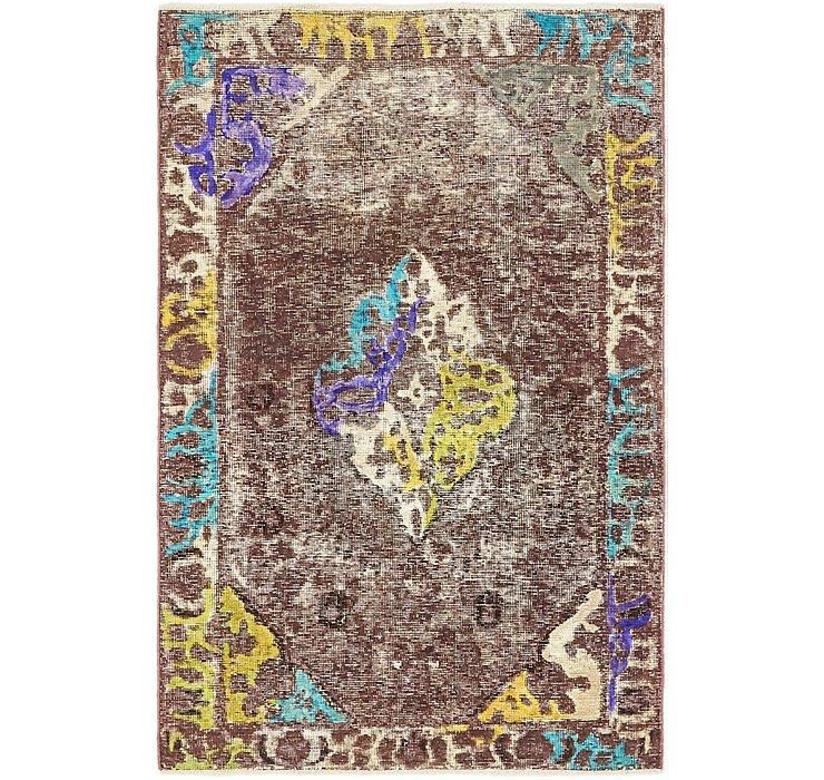 97cm x 145cm Ultra Vintage Persian Rug
