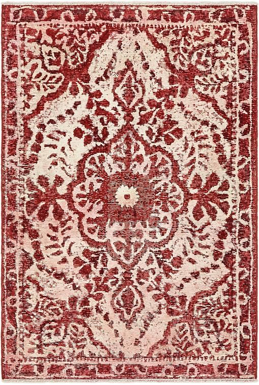 Red 3 X 4 8 Ultra Vintage Persian Rug Persian Rugs