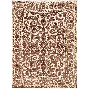 Unique Loom 4' 8 x 6' 3 Ultra Vintage Persian Rug