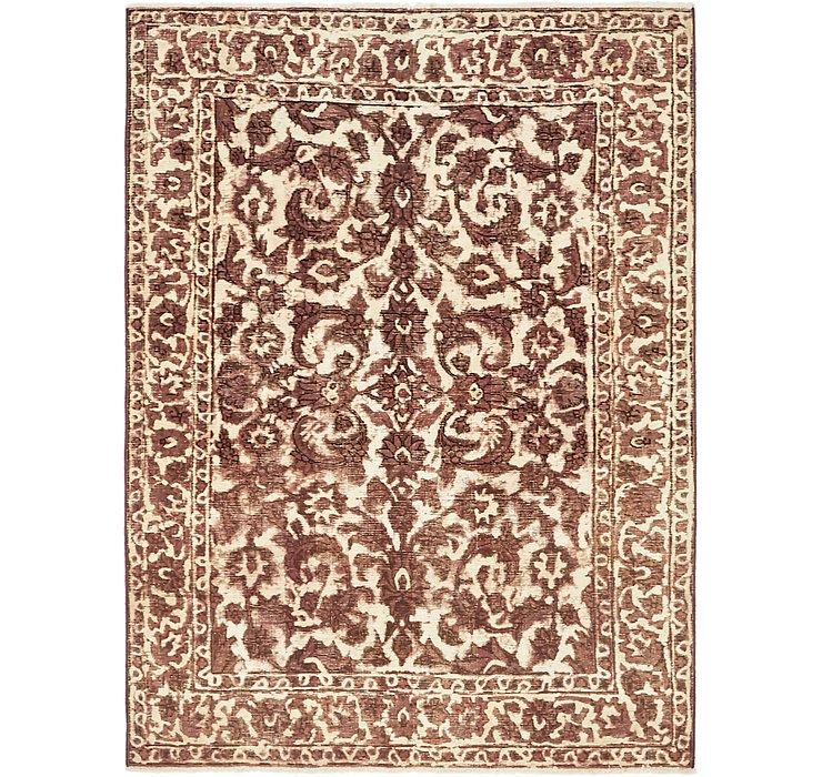 4' 8 x 6' 3 Ultra Vintage Persian Rug