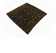 Link to 4' x 4' 3 Sumak Square Rug
