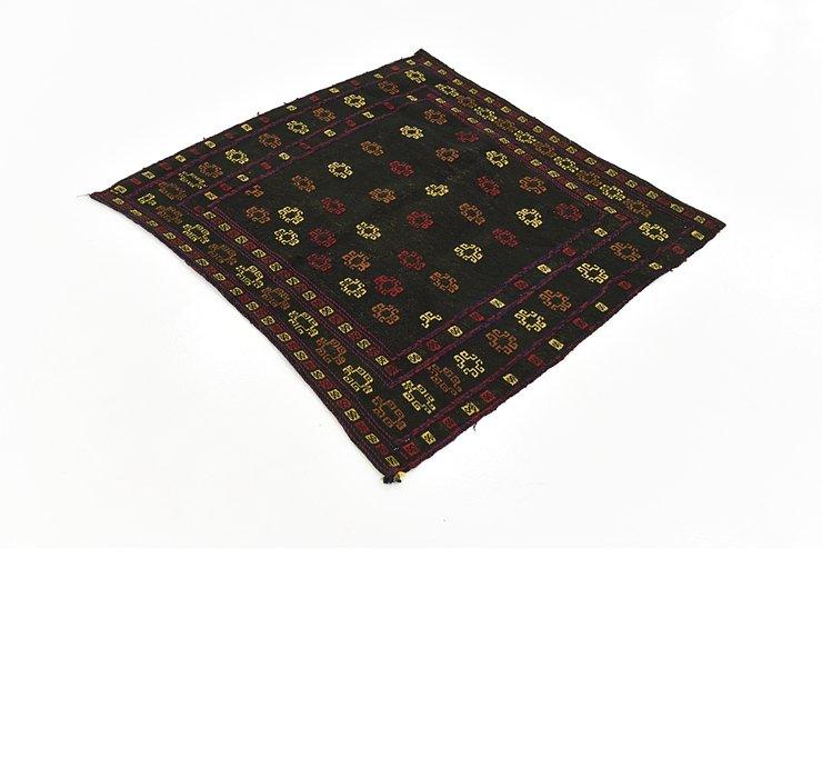 3' 9 x 4' 2 Sumak Square Rug