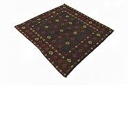 Link to 4' x 4' 5 Sumak Square Rug