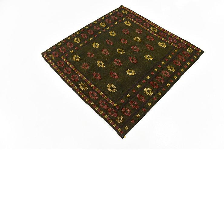 130cm x 135cm Sumak Square Rug