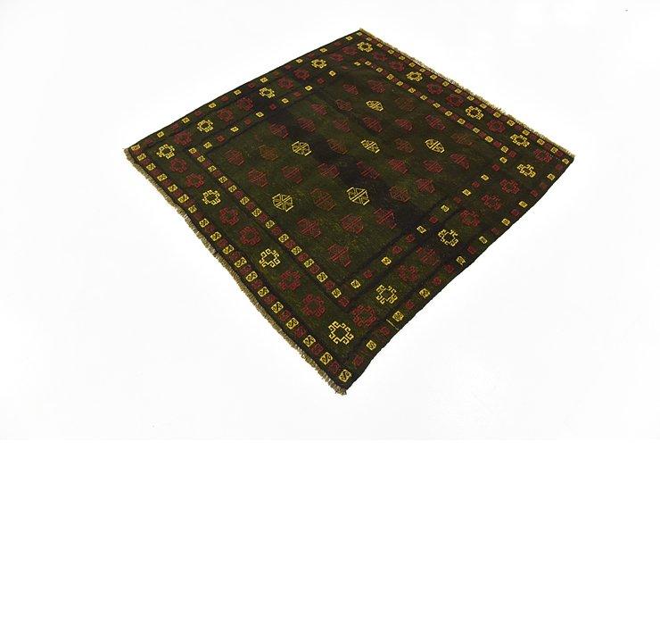 132cm x 132cm Sumak Square Rug