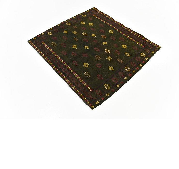 127cm x 132cm Sumak Square Rug