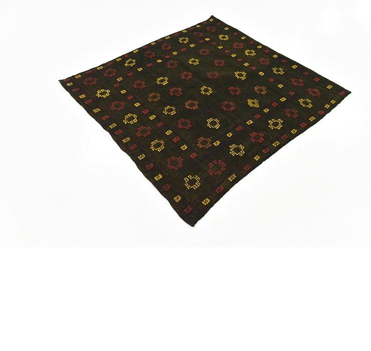 4' 2 x 4' 4 Sumak Square Rug