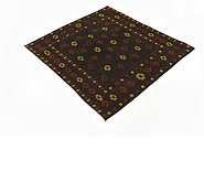 Link to 4' 2 x 4' 3 Sumak Square Rug