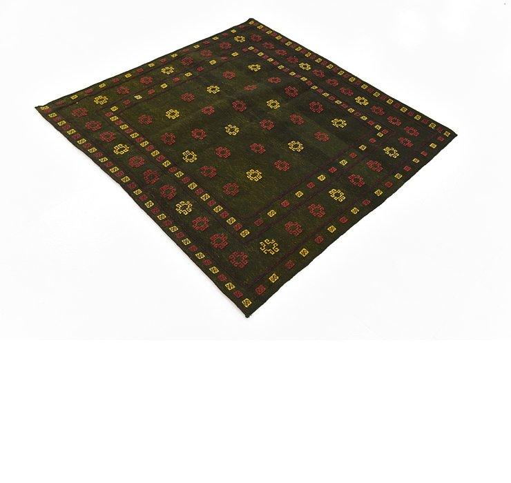 130cm x 137cm Sumak Square Rug