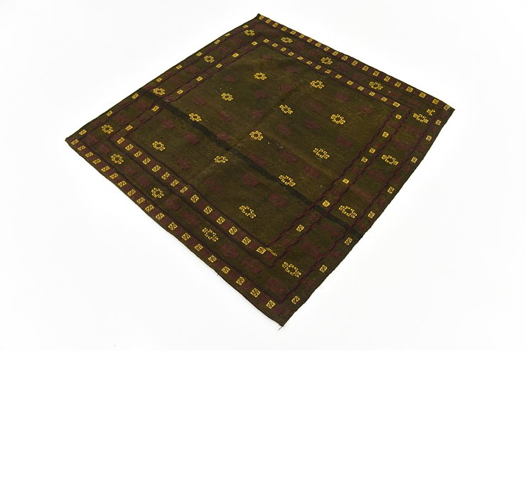 4' 3 x 4' 3 Sumak Square Rug