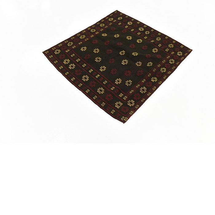 3' 10 x 4' 2 Sumak Square Rug